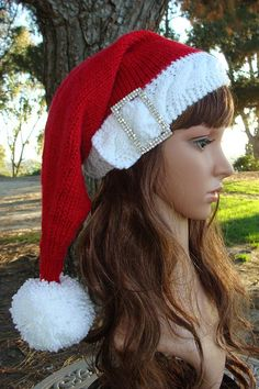 51 best knit santa hat patterns https www etsy com shop rh pinterest com