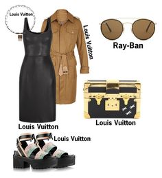 """""""#fashion #minifashionicon"""" by minifashionicon on Polyvore featuring Louis Vuitton and Ray-Ban"""