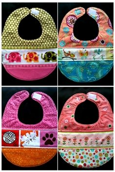 3 diff materials but monogram in middle Baby Shower Gifts To Make, Diy Baby Gifts, Baby Boy Bibs, Baby Hats, Sewing Projects For Kids, Sewing For Kids, Bandanas, Baby Bibs Patterns, Bib Pattern