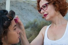 #shooting desierto de Tabernas  #almería #fashion stylist # makeup stylist #roberto verino #uterqüe # Roberto Diz