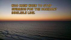 A line on the #horizon. #haiku #micropoetry #sunrise
