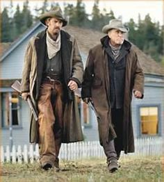 """Kevin Costner and Robert Duvall in """"Open Range,"""" a film directed by Costner Kevin Costner, Movies Showing, Movies And Tv Shows, O Cowboy, Movie Stars, Movie Tv, Cowboy Films, Open Range, Robert Duvall"""