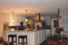 Kitchen and Living Room Open Floor Plans   Found on roomzaar.com
