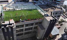 rooftop sports field - Google zoeken