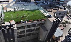 rooftop sports field - Google zoeken