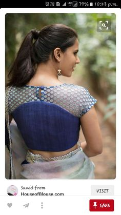 a66065948becb2 Diwali is around the corner and here is the list of 10 new high neck blouse  designs. You can use these blouse deigns as an inspiration to design your  Diwali ...