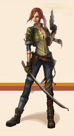 Bounty Huntress by yanzi-5 on deviantART