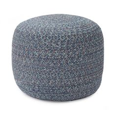 Discover our Shopal Cotton Pouffe made from cotton in blue for a timelessly elegant home ✓ Free delivery over ✓ 100 days free returns ✓ Shop now! Blue Palette, Elegant Homes, Clothes Horse, Geometric Designs, Spice Things Up, Herringbone, Interior Styling, Ottoman, Summer Blues