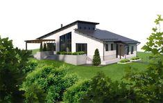 Bryka - Forte kivitalot talomallit Tiny House, Layout, Exterior, Mansions, House Styles, Outdoor Decor, Finland, Sims, Houses