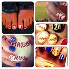 Diamond Duds Softball Nail Stickers Baseball Nail Designs, Baseball Nail Art, Softball Nails, Softball Party, Softball Stuff, Diy Nails Stickers, Toe Nail Designs, Perfect Nails, Cool Nail Art