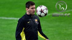 Opwarming Lionel Messi