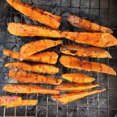 Winter Grilling Ideas: Grilled Sweet Potato Wedges