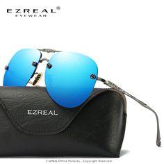 9935435378 EZREAL Fashion Sunglasses Women Popular Brand Design Polarized Sunglasses  Summer HD Polaroid Lens Sun Glasses With Original Case - Nice Trend Store