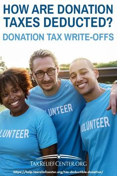 How Are Donation Taxes Deducted? | Donation Tax Write-Offs | A tax-deductible donation encourages charity works by reducing the benefactor's taxable income. If you often donate to charity, you might want to start listing the amount you give. Here's everyt