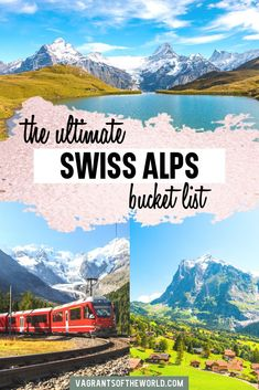 The Ultimate Swiss Alps Bucket List: 6 Fairytale places in the Swiss Alps you need to visit. Whether you are visiting Switzerland for the first time or planning a dedicated Swiss Alps holiday, there are so many amazing places to visit in the alps. Europe Travel Guide, Travel Guides, Travel Destinations, Travel Tips, Travel Info, Budget Travel, Switzerland Cities, Visit Switzerland, Switzerland Vacation