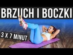 TRENING NA BRZUCH I BOCZKI - DOMOWY TRENING NA PŁASKI BRZUCH - YouTube Healthy Beauty, Health And Beauty, Strong Love, Human Emotions, Keep Fit, Loose Weight, Karate, Fitness Inspiration, Instagram Story