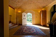 Villa of Langhe stone, Piedmont Italy