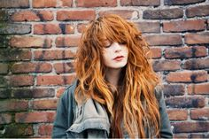 "I love her hair! Her blog is called ""They Call Me Redhead"". I am totally inspired by her style! Literally, it is just perfection."