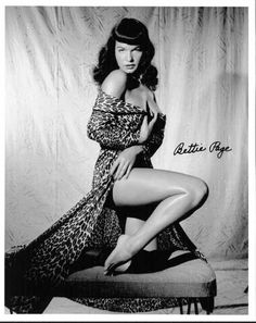 Betty Page - pin up pioneer