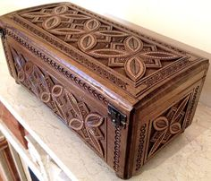 UKRAINIAN Traditional Wooden Carved Box    Walnut    Measurements: 15,5 см x 34,8 см x 16,5 см.    Completely handmade    Very fine work.    Brand new never used    Item location - Ukraine    Delivery to U.S. and Canada - 3 weeks, to Europe - 10-14 days  BRAND NEW EXCELLENT CONDITION !  MADE IN UKRAINE, 2015, Ivano-Frankovsk region    Good luck! | Shop this product here: spreesy.com/rushnichok/244 | Shop all of our products at http://spreesy.com/rushnichok    | Pinterest selling powered by…