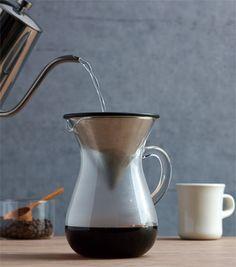 Slow Coffee Style 4-C coffee carafe set