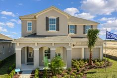 The Ryland Group. Roarke II floor plan. 5 bedrooms, 4 bath. This home comes standard with a loft and oversized gameroom and offers a family room and formal living and dining rooms. #POH2014 #OrlandoHomes #Orlando