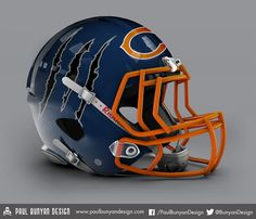 Since the Cleveland Browns got a new helmet design, one artist decided to re-design all of the NFL helmets!