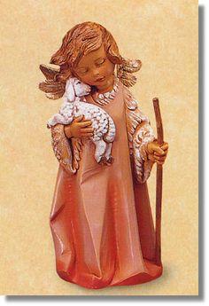5 Inch Scale Little Shepherd Angel by Fontanini