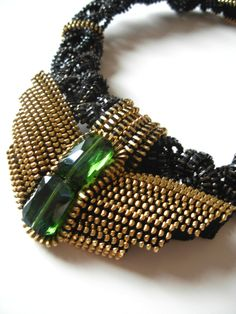 Nightingale Zipper Necklace by ReborneJewelry on Etsy, $350.00