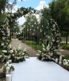 Ceremony Arch, Wedding Ceremony Decorations, Outdoor Ceremony, Wedding Centerpieces, Wedding Table, Antique Wedding Decorations, Night Wedding Ceremony, Outdoor Wedding Entrance, Wedding Tent Lighting