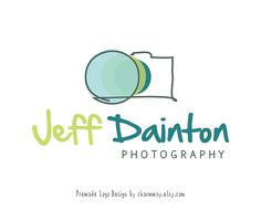 Photography Logo and Watermark - Custom Premade Logo  - Custom Business Logo Design - Photography Props