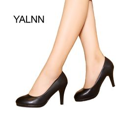 YALNN Women Office lady high heels shoes Women Pumps Party Shoes Women Thin Heel Pointed Toe Pumps for Girls