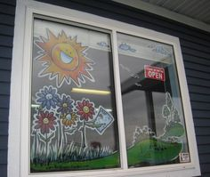 1000 Images About Window Painting On Pinterest