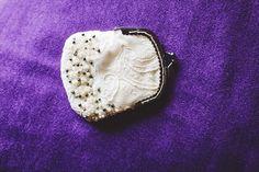 bride's purse - Rachael Schirano Photography - Contemporary Arts Center Wedding
