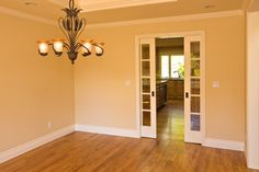 Pocket Sliding Door Between Dining Room And Kitchen