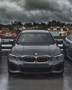 The stormy weather is no match for the thunder packed inside this Mineral Grey 2020 BMW Our new 3 Series selection is coming along nicely, so be on the lookout for more of it. Bmw 320d, Bmw Cars, New 3 Series, Bmw 3 Series Sedan, Thunder, Dream Cars, Minerals, Automobile, Bike
