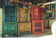 images for free woodworking primitive | Hutches - Primitive Woodworking of Greene County