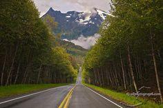 Juneau, Alaska... Out the road