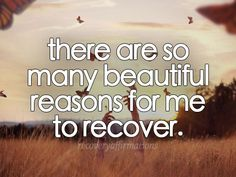 Take a moment to connect with your reasons to recover. #edrecovery #EatingDisorder