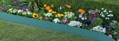 Steel Garden Edging - Eucalypt Green x Plastic Garden Edging, Steel Garden Edging, Steel Edging, Raised Garden Planters, Raised Garden Beds, Garden Products, Green, Plants, Plant