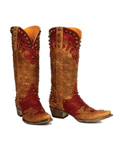 Old Gringo Women's Raelene Boot - Red/Oryx ... GREAT boots ... $710