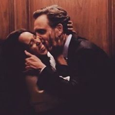 The President and Olivia Pope in the Lift on Episode 4-Scandal