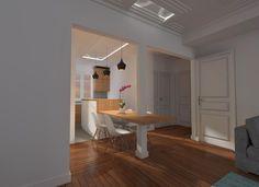 appartement style art deco cuisine ouverte prestige luxe agence avous