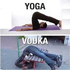 Yoga vodka image Image tagged in yoga vodka. Pin On Yoga And Vodka Funny Picture . Drunk Memes, Memes Humor, Funny Drunk Quotes, Drunk Fails, Funny Images, Funny Photos, Hilarious Pictures, Quotes Images, Videos Funny