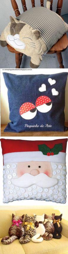 Оригинальные подушки. Подборка идей