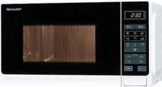 Sharp R-242WW Four Micro-Onde Classique 20 L 800 W Classe: A+++ Blanc: Puissance : 800 WCommandes électroniques11 niveaux de puissance du…