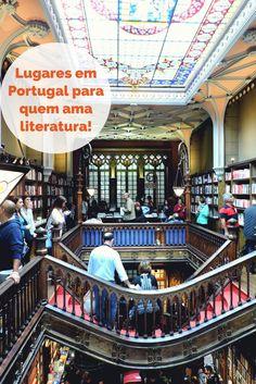 País de origem de grandes nomes como José Saramago, Fernando Pessoa, Eça de Queiroz e Luís de Camões, Portugal tem alguns lugares que quem, como eu, é apaixonado por livros, precisa conhecer!