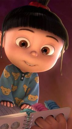 Image uploaded by Moniiiii?. Find images and videos about girl, cute and despicable me on We Heart It - the app to get lost in what you love.