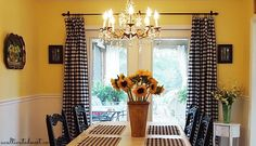 diy cheap curtains - tablecloths as curtains and I love the idea of the clips for curtains---can use sheets for curtains too!