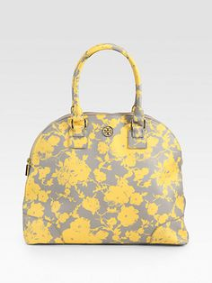 Tory Burch - Robinson Printed Dome Tote